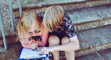 Bilingual siblings and language preferences