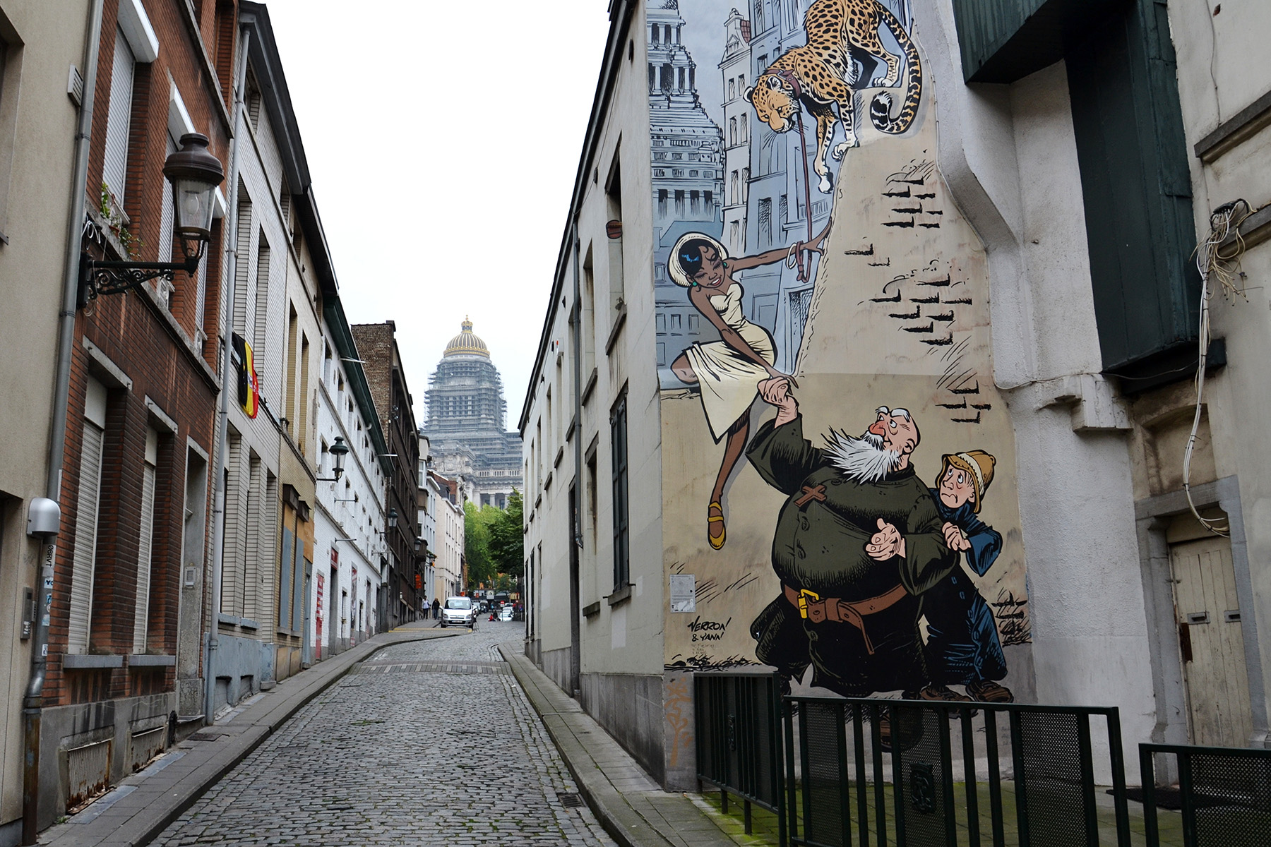 Brussels is chaotic and quirky, which is what makes it so special.