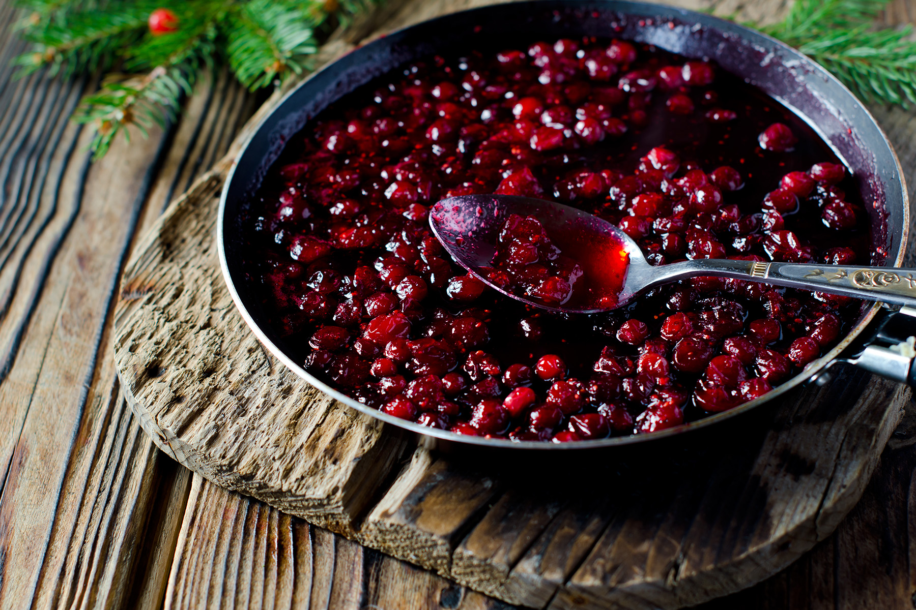 Forget cranberry sauce from a can; make your own and your Thanksgiving meal will love you for it.