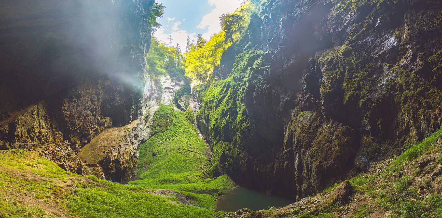 Punkva Caves, Czechia