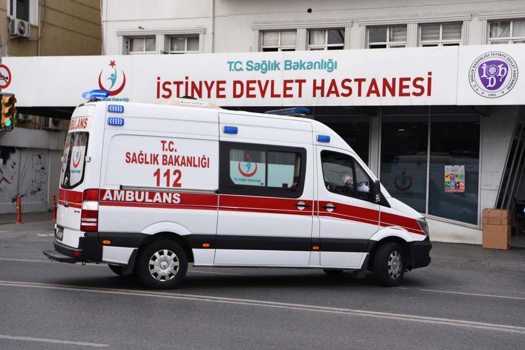 Emergency department in Turkey