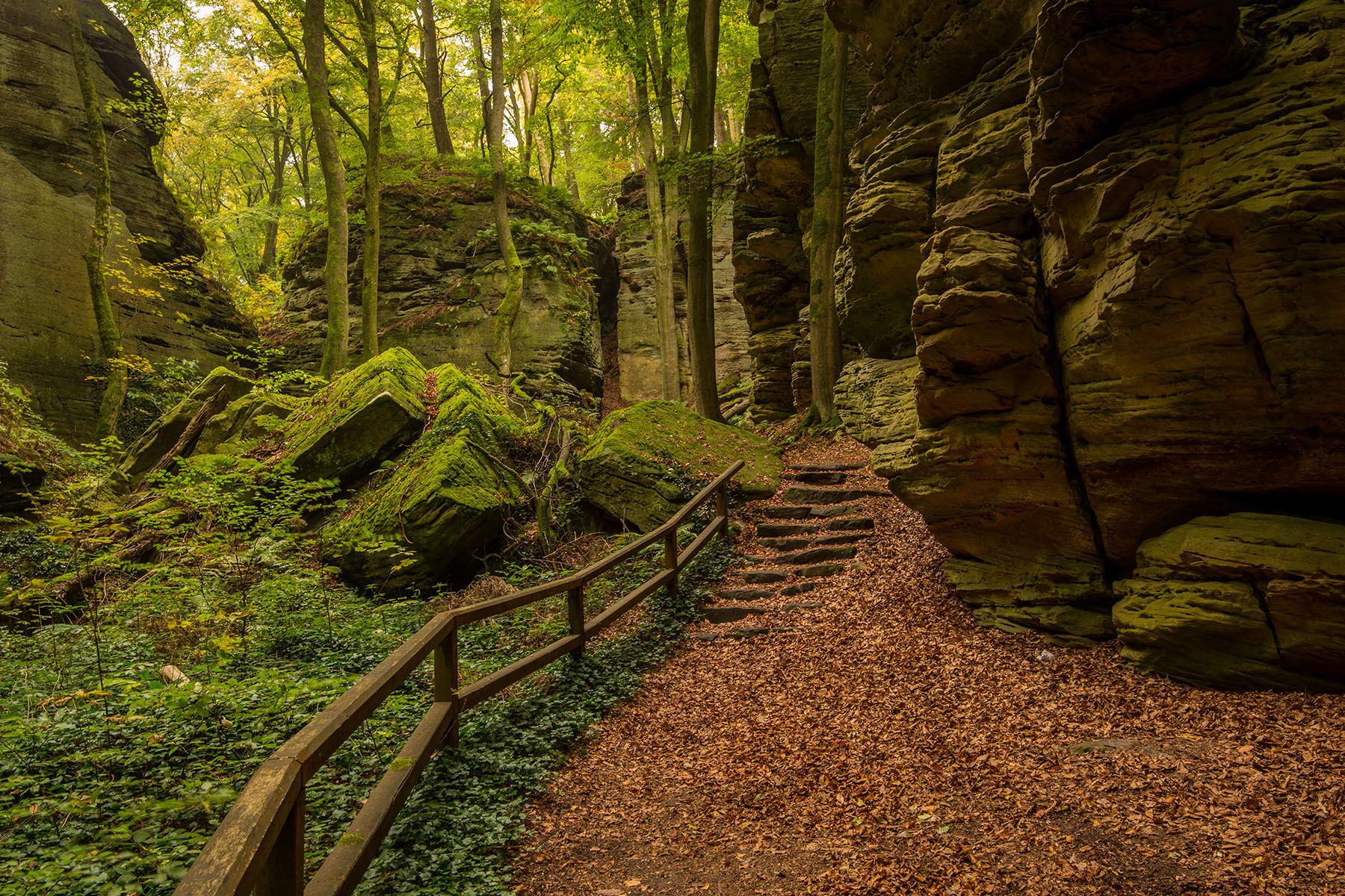 Mullerthal Region, Luxembourg
