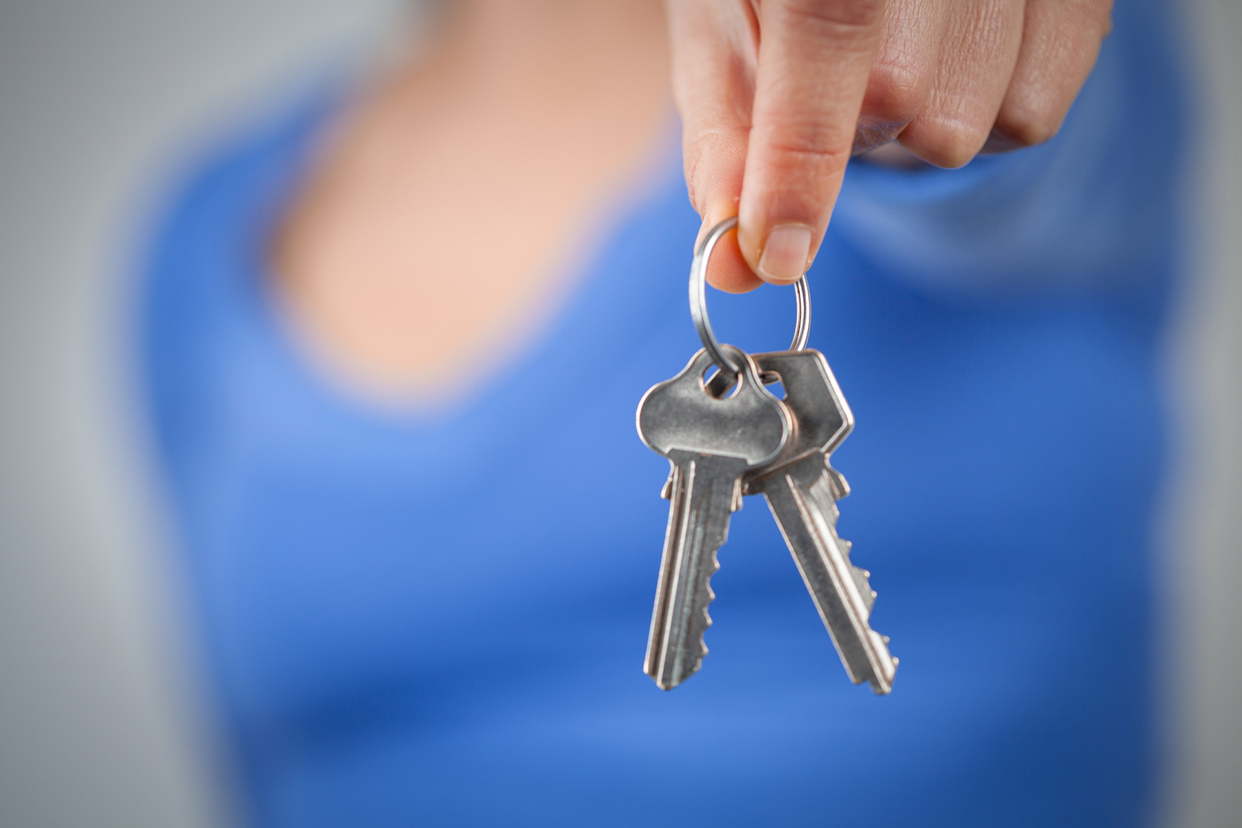 Spare house keys