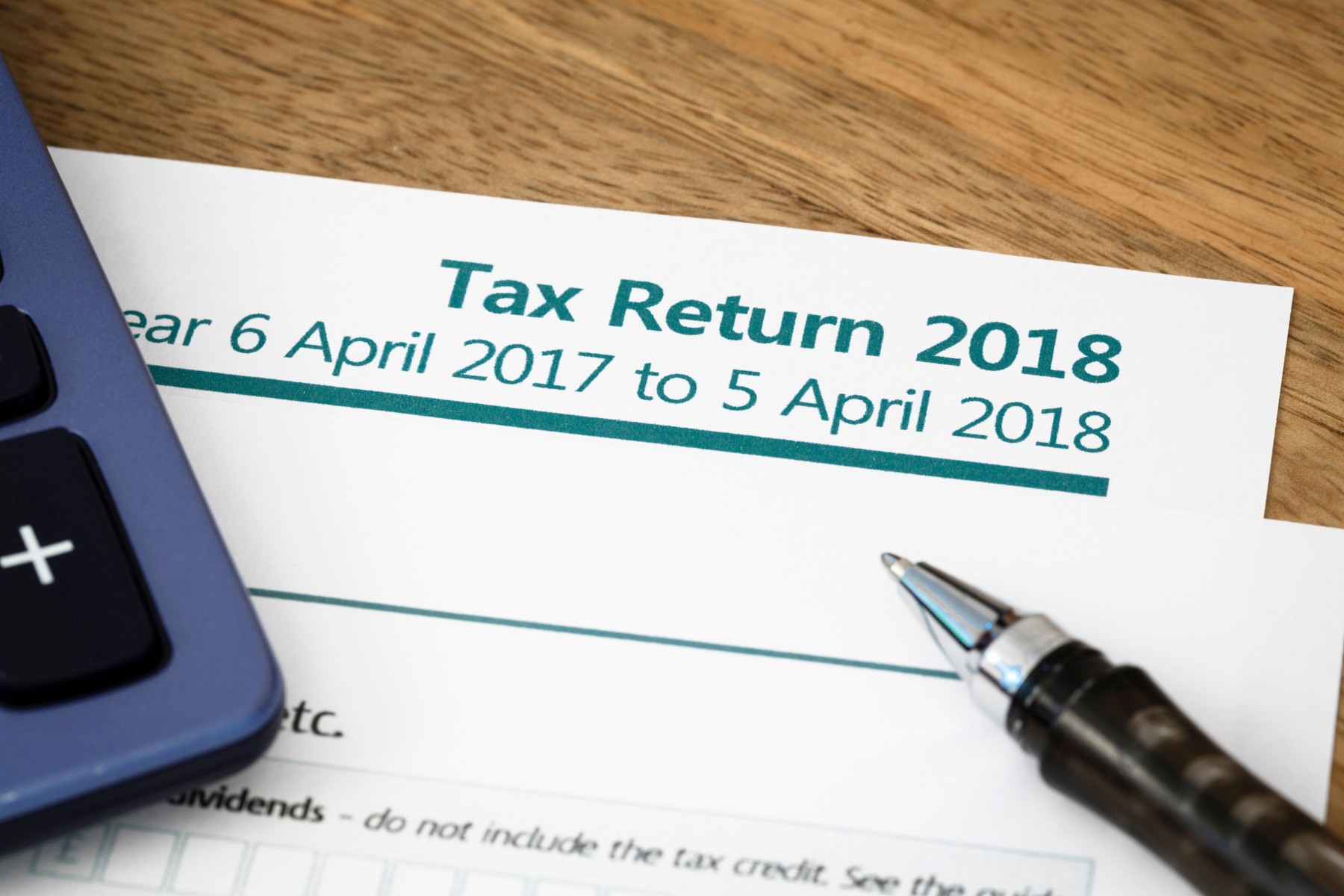 UK income tax return