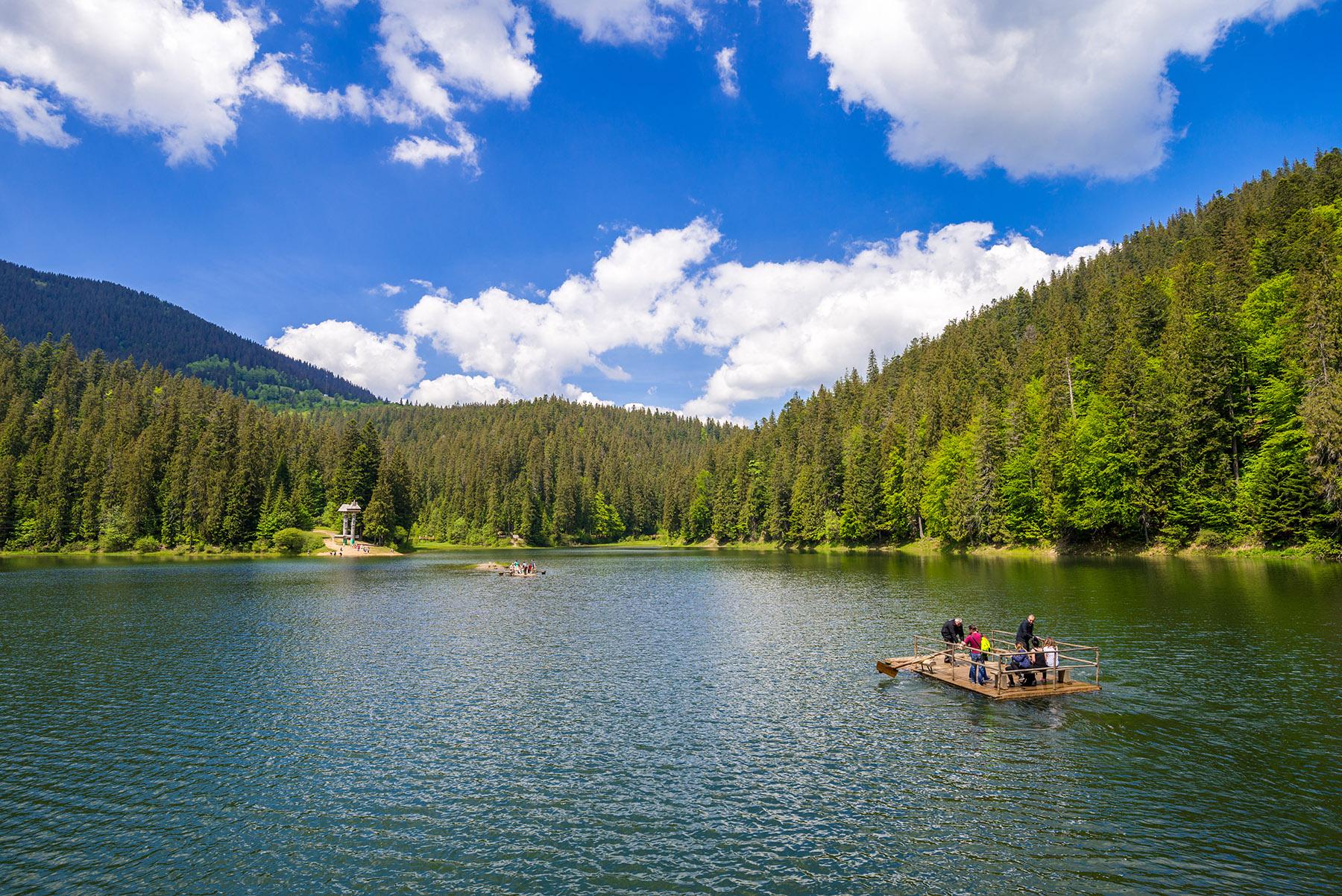 Synevir-Polyans'ke Lake, Ukraine