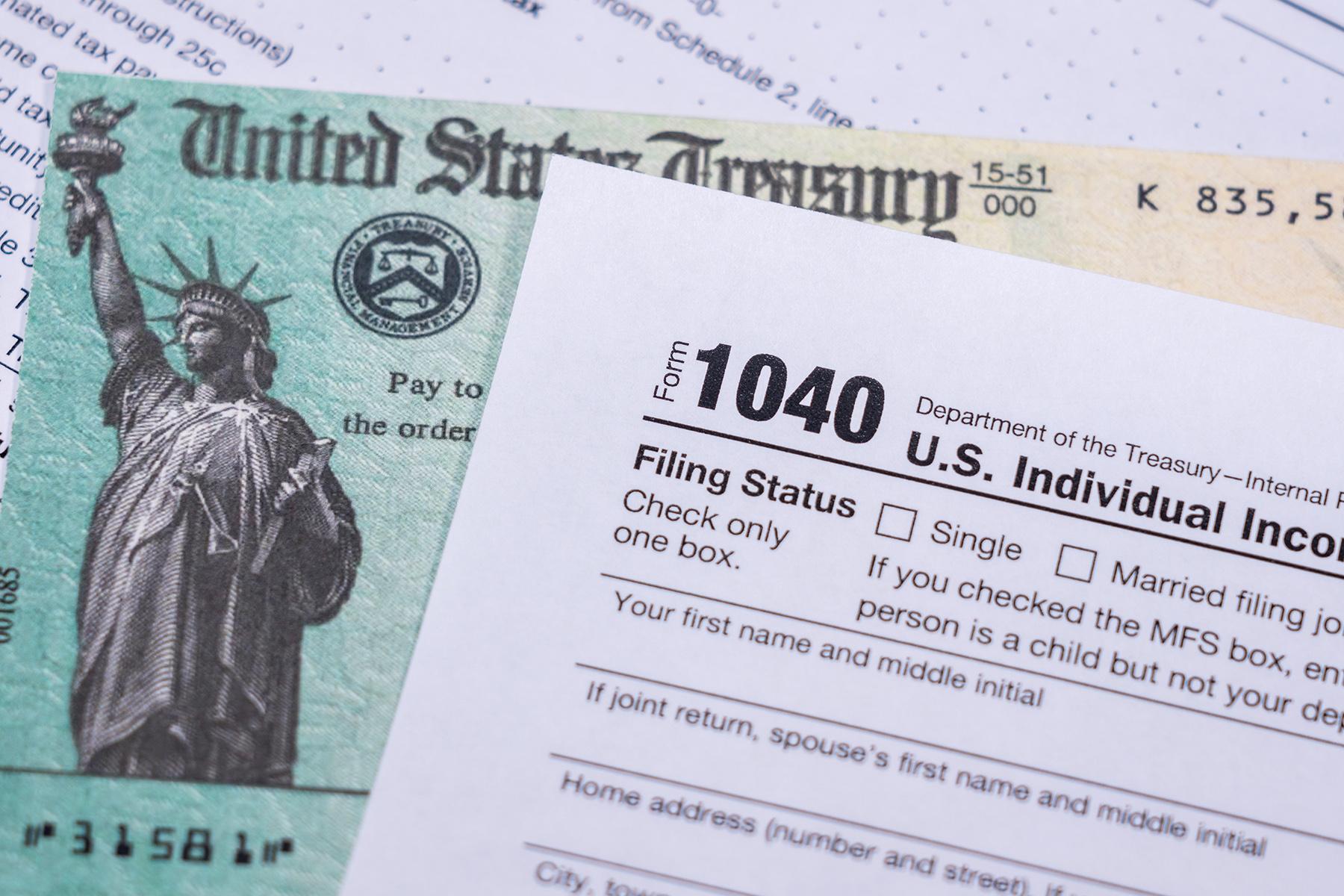 US Form 1040
