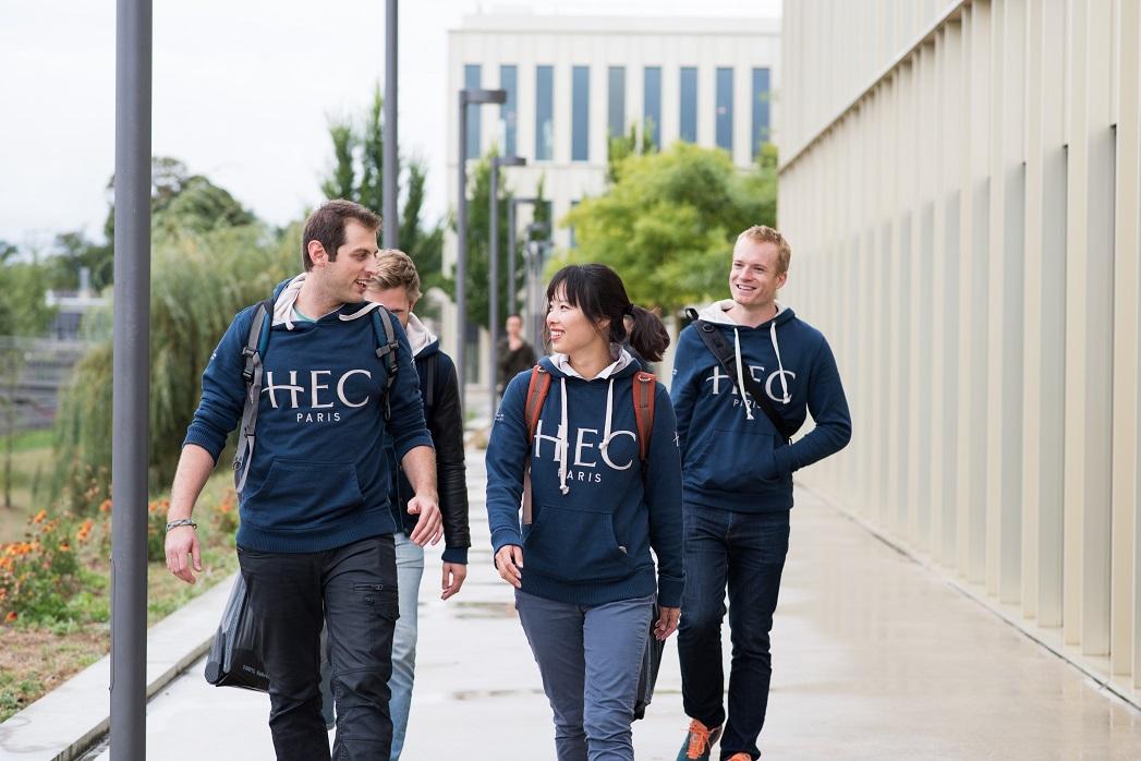 Students at HEC Paris