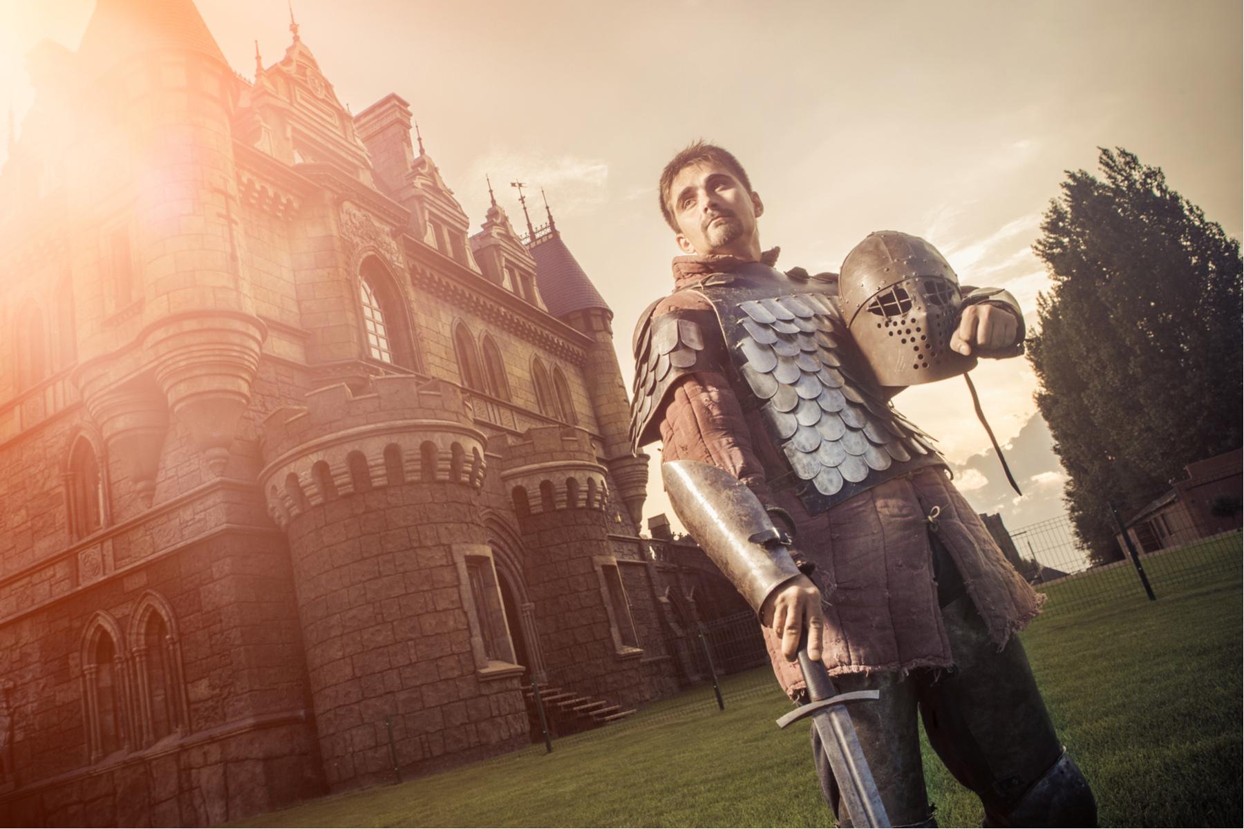 Chivalrous knight
