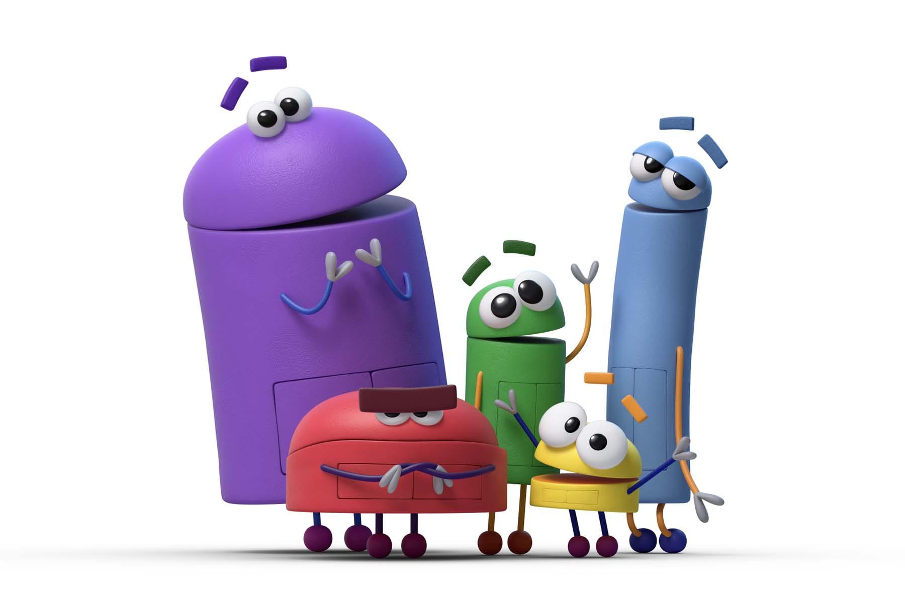 StoryBots characters