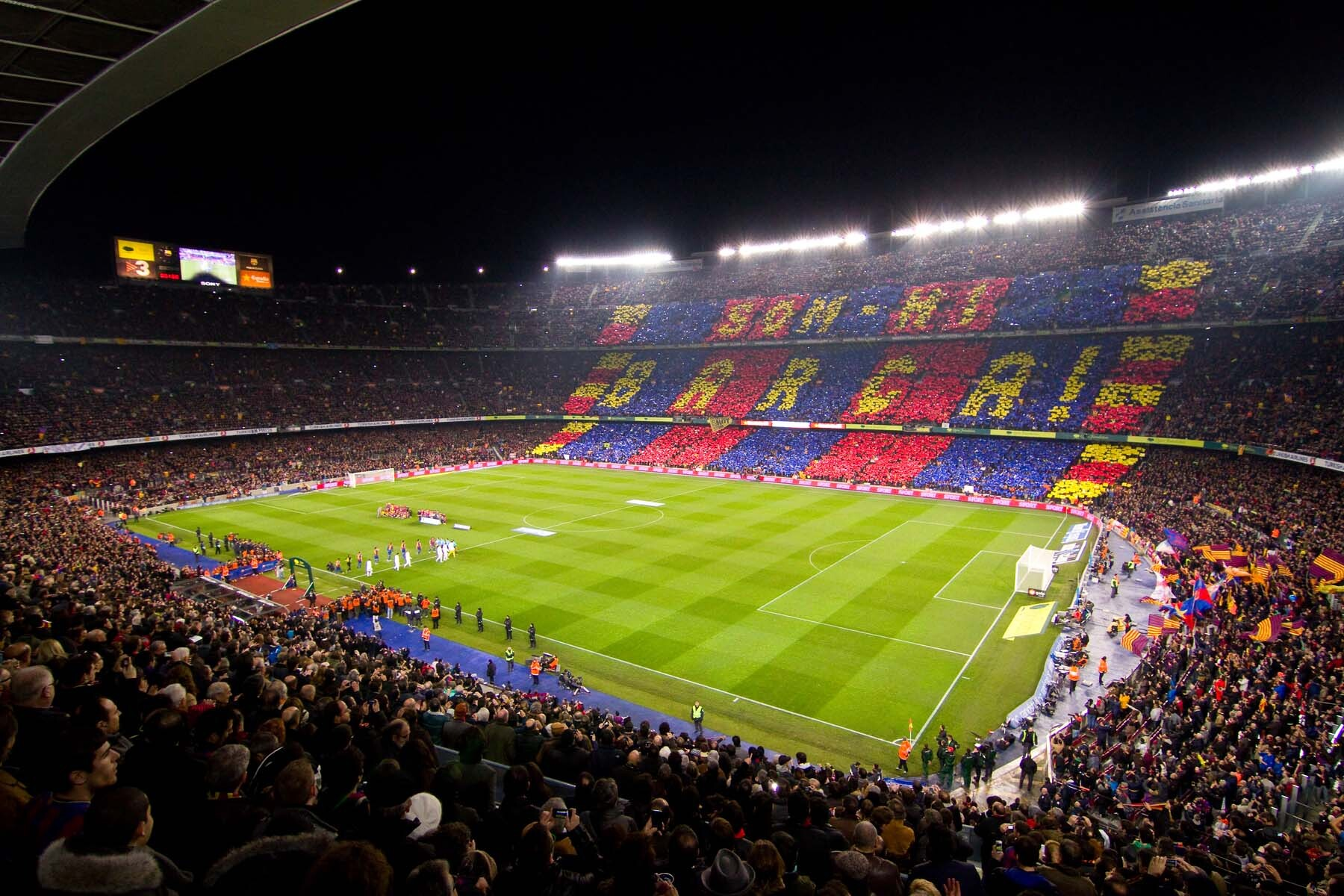Stag party idea: Camp Nou in Barcelona