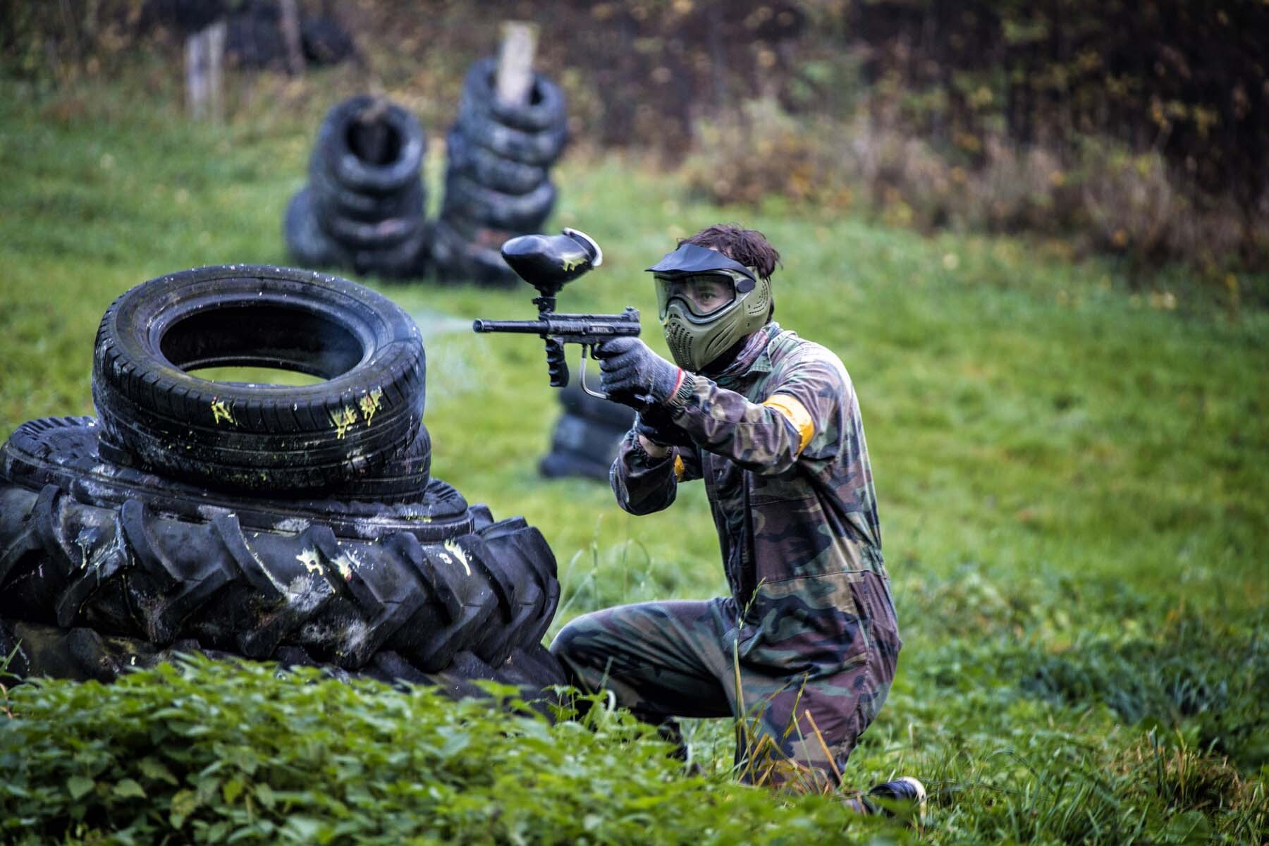 Paintball at a stag party