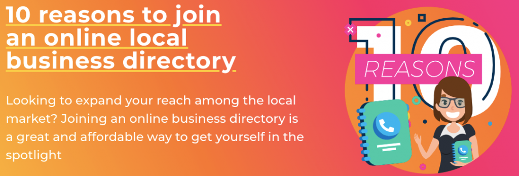 Join our business directory