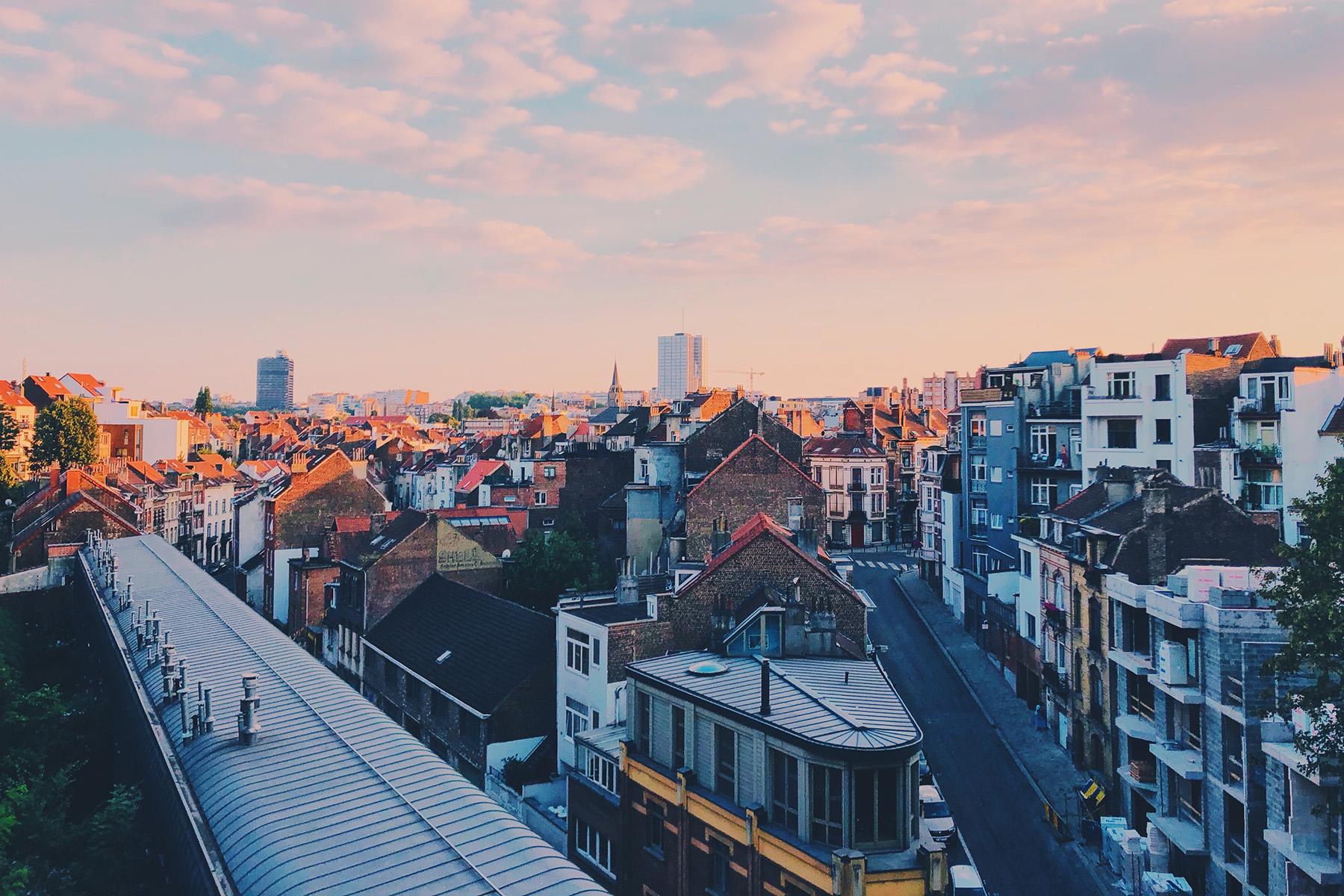 A Brussels neighborhood