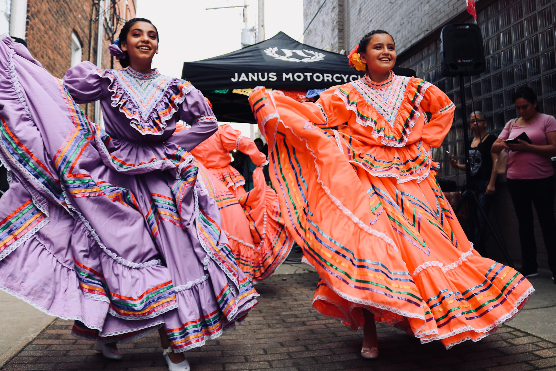 Dancers in Mexico