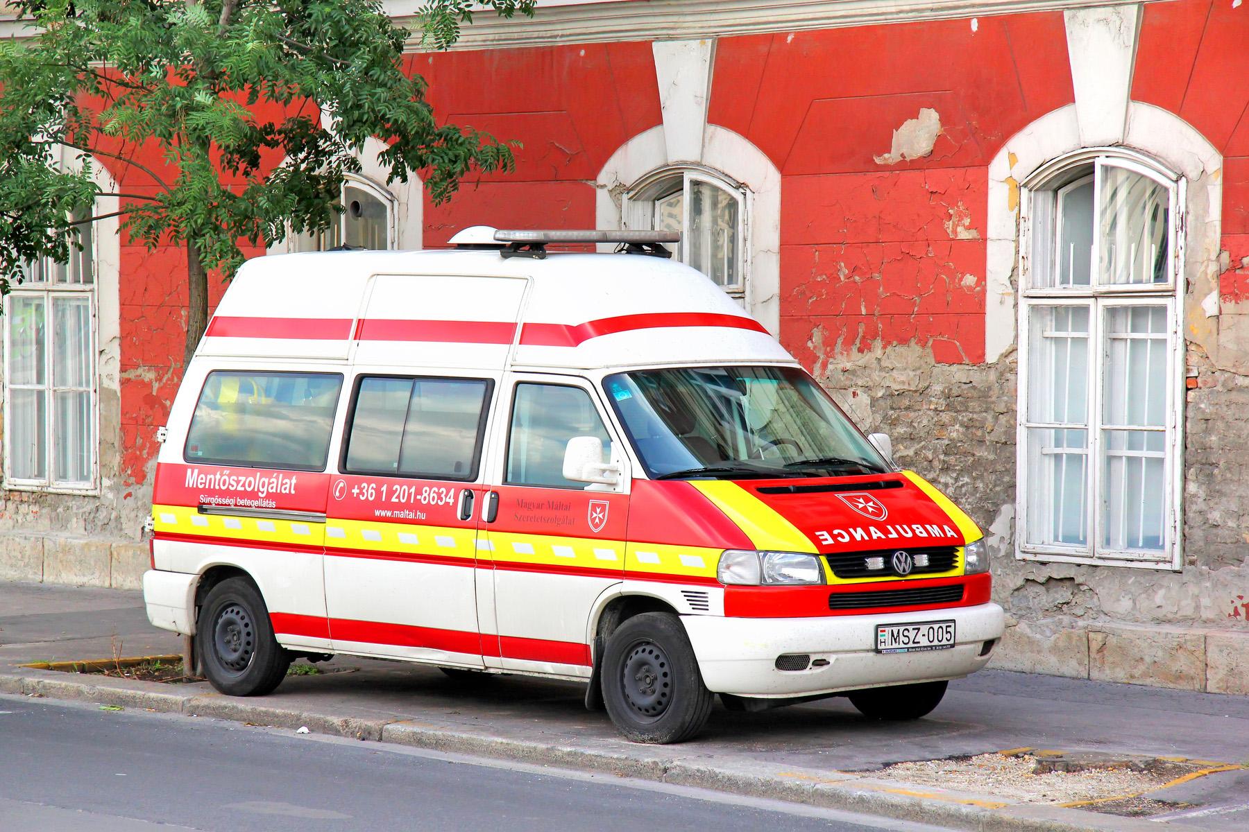 A Hungarian ambulance