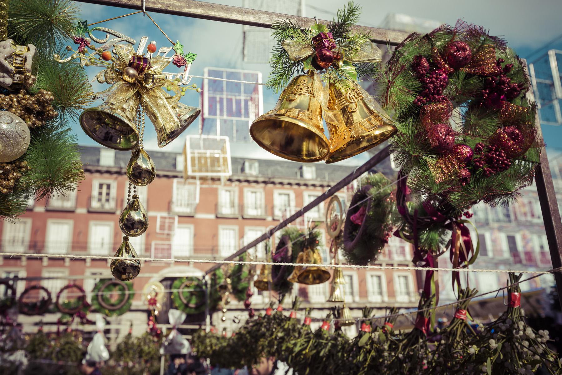 Madrid Christmas market