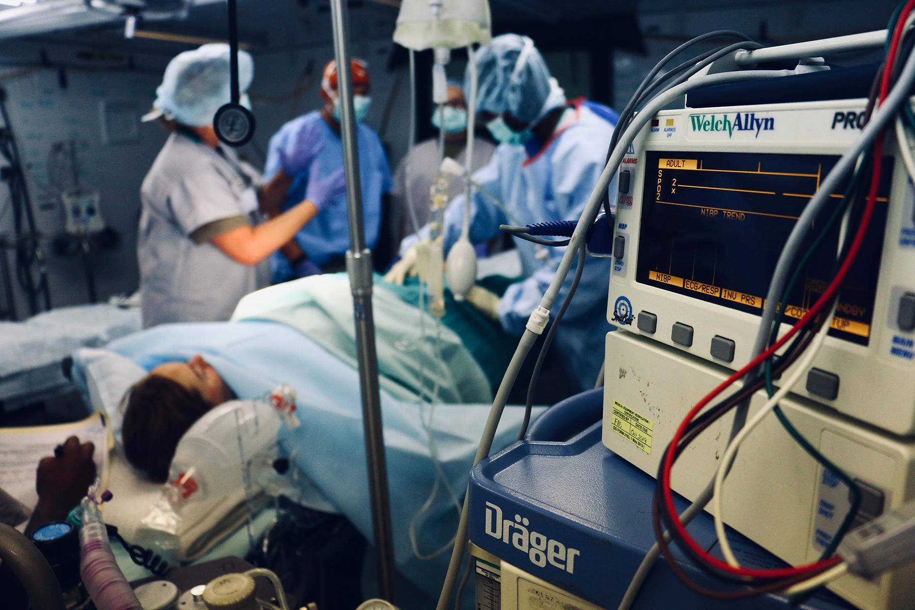 Surgery patient