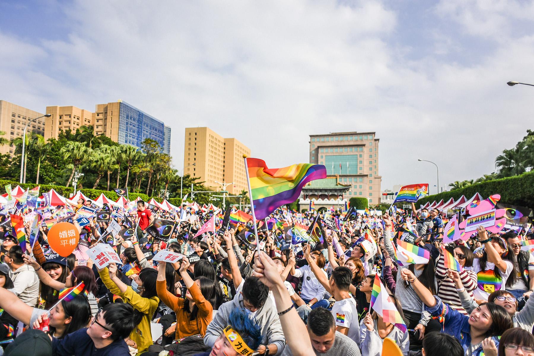 Taipei same-sex marriage rally