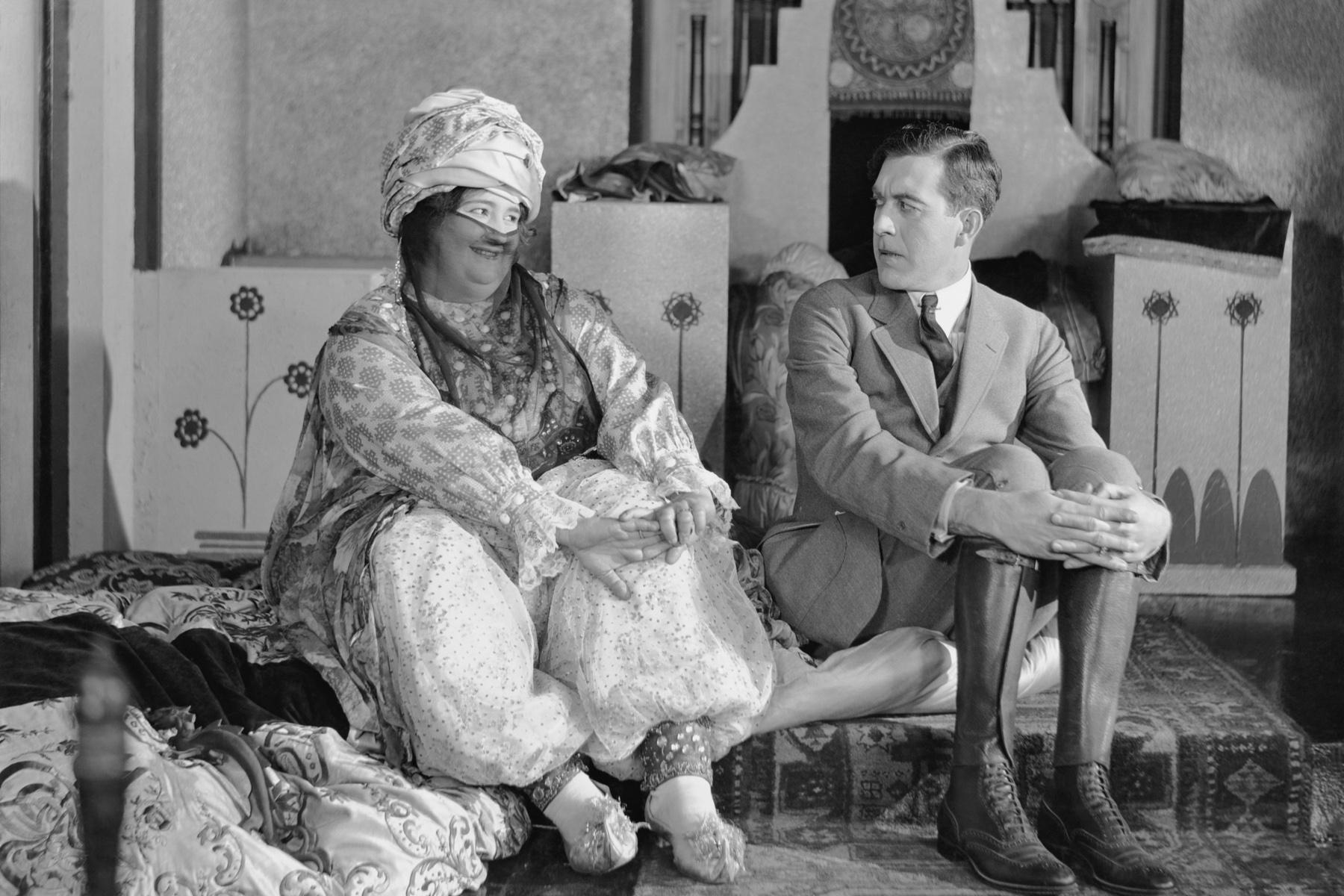 Woman and man having a misunderstanding