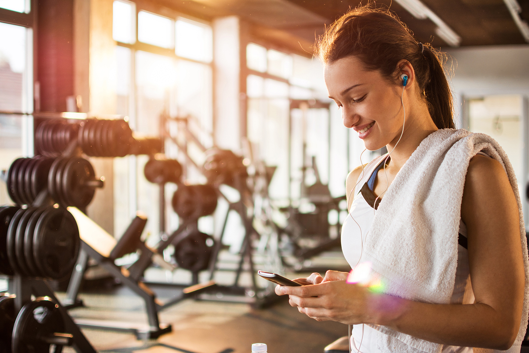 Moving out checklist: gym membership