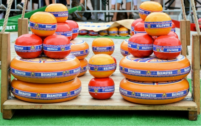 Dutch cheese markets