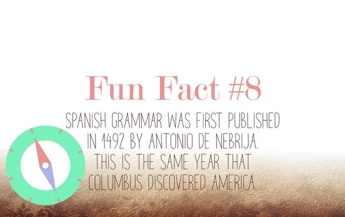 Fun fact eight