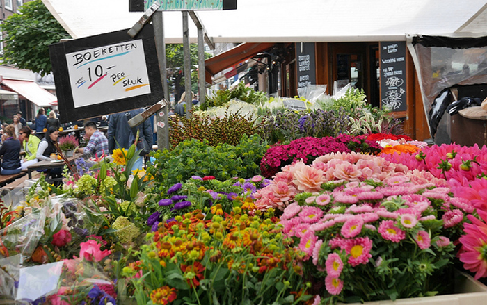 Top 10 things to do in Amsterdam: Bloemenmarkt
