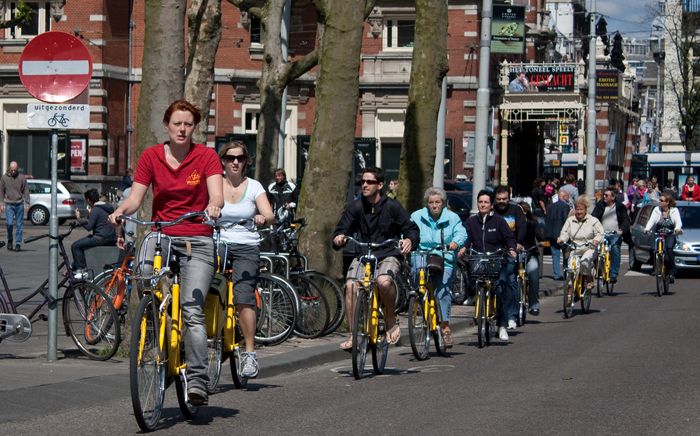Top 10 things to do in Amsterdam: Amsterdam bike tour