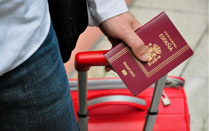 Spanish passport application