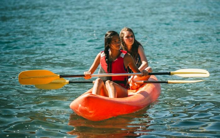 Water activities in Italian Switzerland