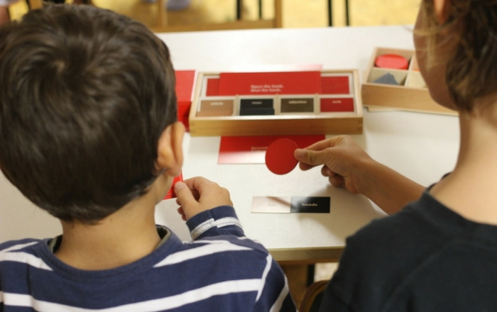 Montessori learning tools