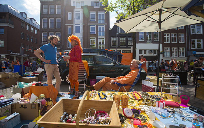 free market on king's day