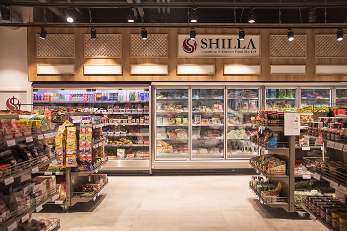 Shilla, a Japanese and Korean grocery store in Amstelveen