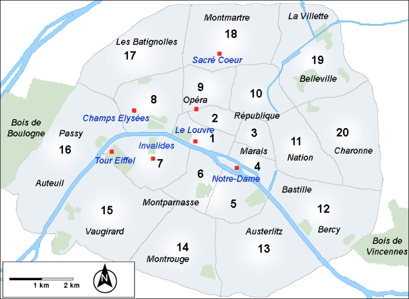 Properties in Paris
