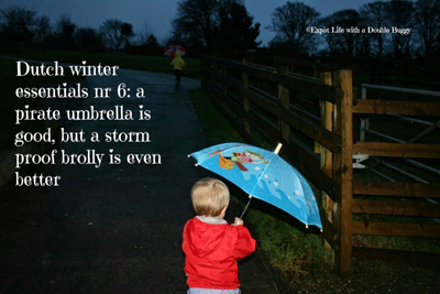 Expat life with a double buggy: 17 Must have items to survive a Dutch winter