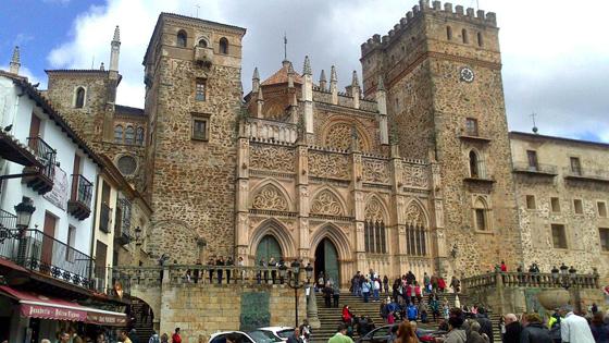 Top UNESCO sites Spain: Santa María de Guadalupe