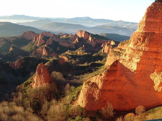 Top UNESCO sites Spain:Las Médulas