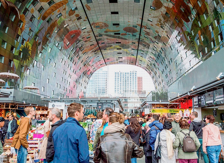 Top places Netherlands: Rotterdam Markthal