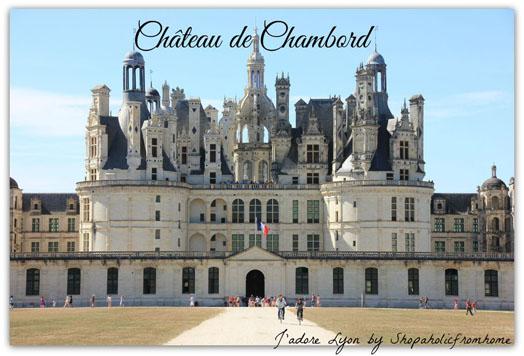 Château de Chambord Castle in France
