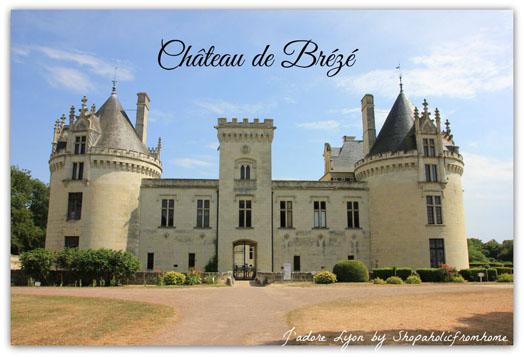 Château de Breze Castle in France