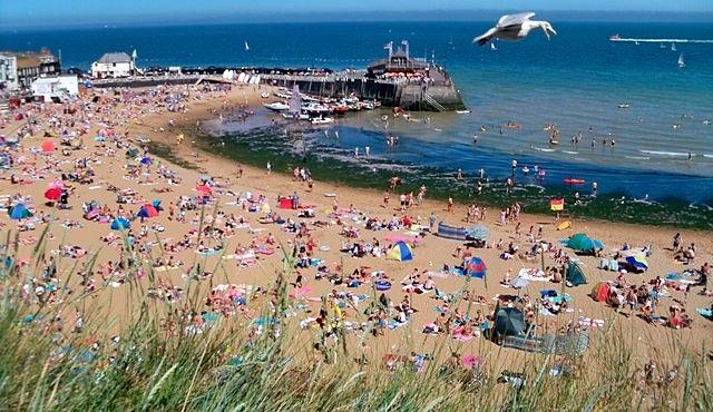 Viking Bay in Kent