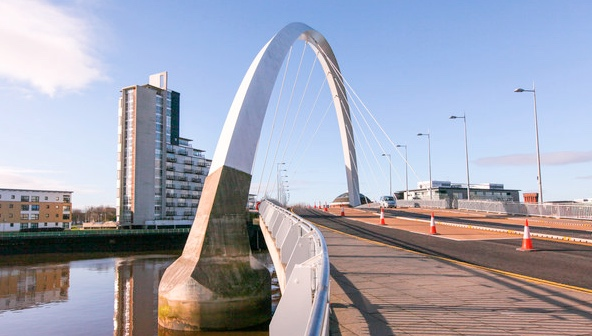 The Clyde Arc in Glasgow