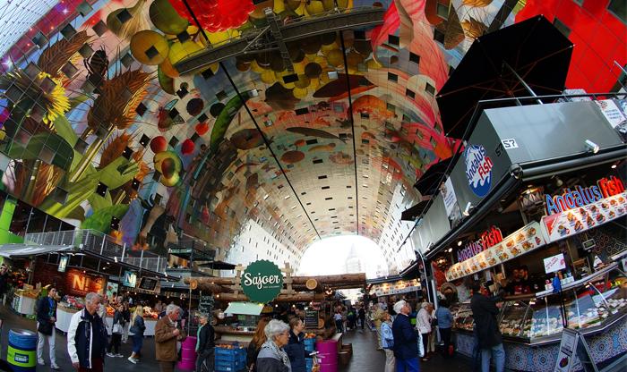 Best Rotterdam food:markthall