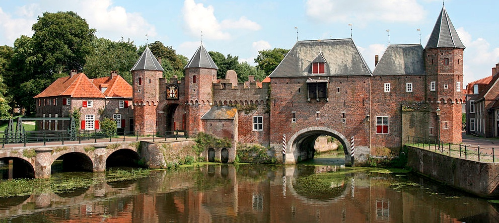 Amersfoort is the second-largest city in Utrecht Province