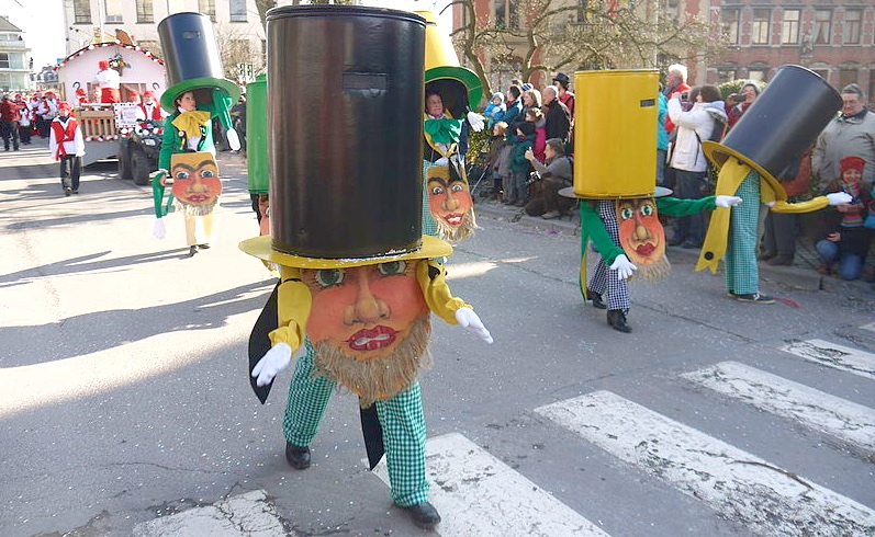 Belgium carnival costumes