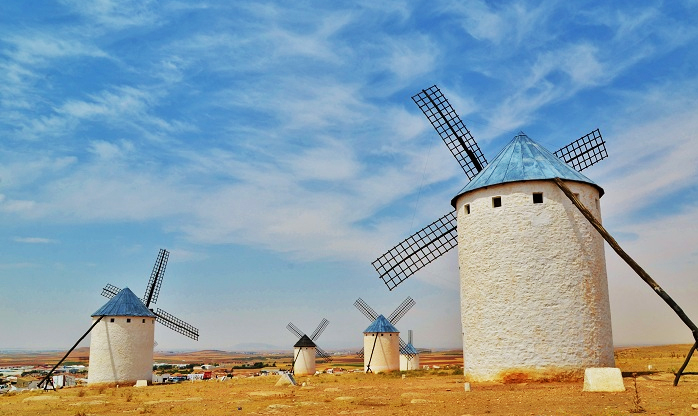 Top 10 road trips you must drive in Spain: Ruta de los Molinos