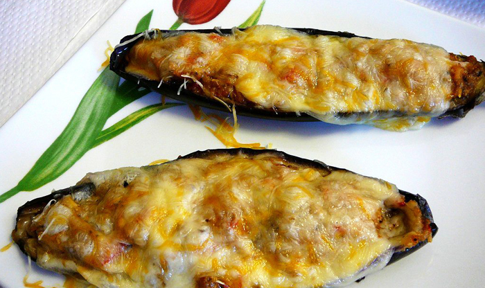 Top foods to try in the Balearic Islands: Berenjenas rellenas