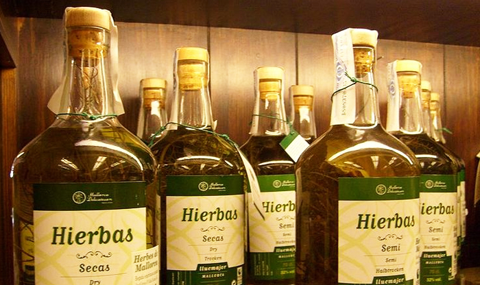 Top foods to try in the Balearic Islands: Hierbas Mallorquinas