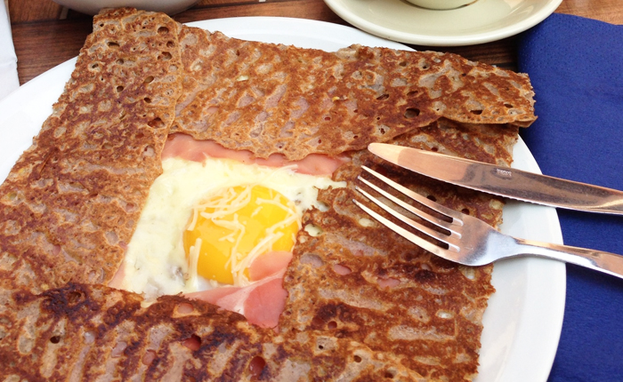 9 quintessential French foods even your kids might eat: Buckwheat crepes / galette
