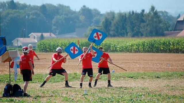Hornussen is a popular Swiss sport